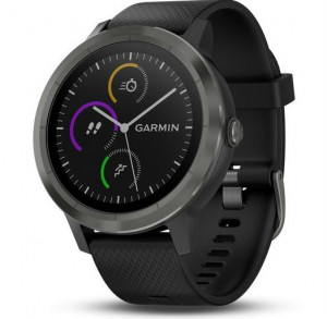 Смарт-часы Garmin Vivoactive 3 Black with Slate Hardware (010-01769-12)