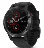 Спортивные часы Garmin Fenix 5 Plus Sapphire Black with Black Band (010-01988-01)