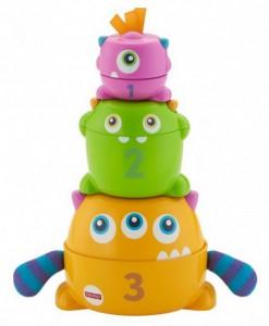 фото Развивающая игрушка Fisher-Price 'Монстрик 3 в 1' (FNV36) #4