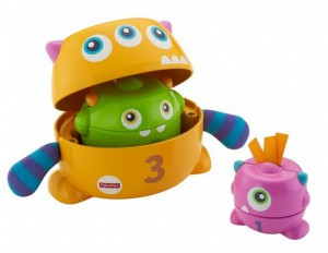 фото Развивающая игрушка Fisher-Price 'Монстрик 3 в 1' (FNV36) #3