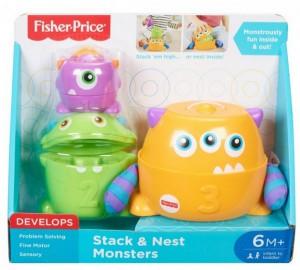 Развивающая игрушка Fisher-Price 'Монстрик 3 в 1' (FNV36)
