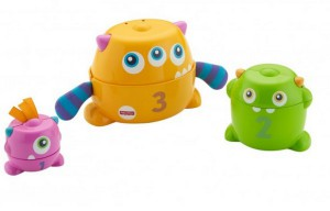 фото Развивающая игрушка Fisher-Price 'Монстрик 3 в 1' (FNV36) #5