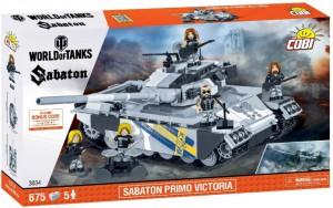 Конструктор COBI 'World Of Tanks Сабатон Примо Виктория' 675 деталей (COBI-3034)