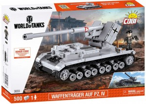 Конструктор COBI 'World Of Tanks Waffenträger' 500 деталей (COBI-3033)