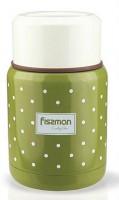 Термос для еды Fissman оливковый 350 мл (VA-9667.350)