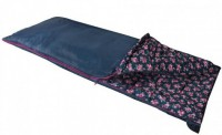Спальный мешок Highlander Sleepline 250/+5°C Floral Blue (Left) (925865)