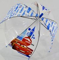 Детский зонт 'Cars Japan' грибком прозрачный