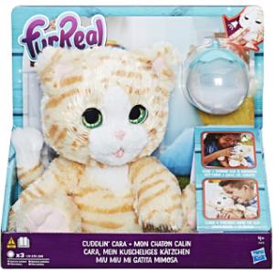 Интерактивная игрушка Hasbro 'Покорми котенка' (E0418)