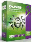 Программа Антивирус Dr.Web Security Space 1 Год 1 ПК 1моб +150 дней REG FREE