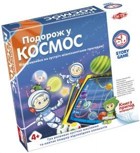 Настільна гра Tactic 'Подорож у космос' (55686)