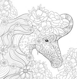 Единороги. Раскраска-антистресс для творчества и ...