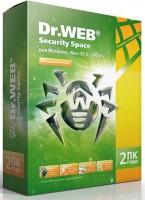 Программа Антивирус Dr.Web  2 ПК / 1 год = 1 ПК / 2 года