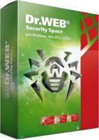 Программа Антивирус Dr.Web Security Space 6 месяцев 1 ПК + 1 моб.