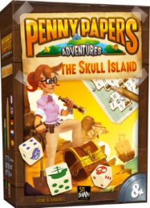 Настiльна гра Sit Down Penny Papers 'Острів Черепа' (3017)