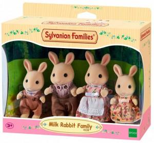Набор Sylvanian Families 'Семья Молочных Кроликов' (4108)