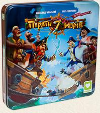 Настільна гра Igames: 'Пірати 7 морів' (3094)