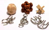 Подарок Набор из 6 головоломок разного уровня сложности (MT 11427)