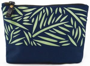 Подарок Косметичка Gifty з саржі 'Green Leaves' (18042)