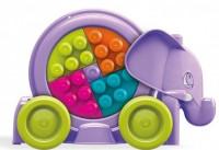Классический конструктор Mattel Mega Bloks Розовый слонёнок (FFY14)