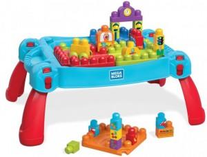 Классический конструктор Mattel Mega Bloks Развивающий столик (FGV05)
