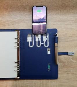 фото Бизнес-органайзер AB Book (блокнот, зарядное устройство, flash-накопитель, ручка) #14
