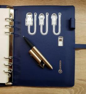 фото Бизнес-органайзер AB Book (блокнот, зарядное устройство, flash-накопитель, ручка) #13