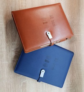 фото Бизнес-органайзер AB Book (блокнот, зарядное устройство, flash-накопитель, ручка) #7