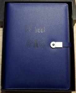 фото Бизнес-органайзер AB Book (блокнот, зарядное устройство, flash-накопитель, ручка) #6