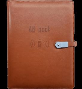 Бизнес-органайзер AB Book Коричневый