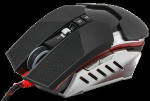 Мышь игровая A4Tech Bloody T50 USB Black/Silver