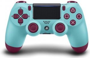 Джойстик Sony Dualshock 4 для консоли PS4 (Berry Blue) V2