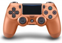 Джойстик Sony Dualshock 4 для консоли PS4 (Copper) V2