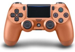 Джойстик Sony Dualshock 4 для консоли PS4 (Copper) V2
