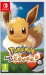 игра Pokemon: Let's Go: Eevee! Switch