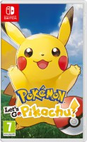 игра Pokemon: Let's Go: Pikachu! Switch