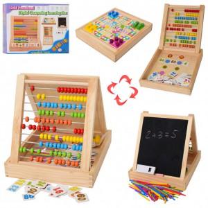 Деревянная игрушка Multi Pouch 'Набор первоклассника' (MD 1259)