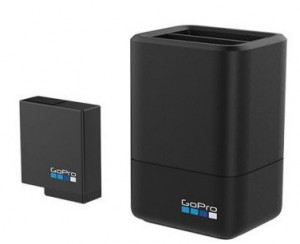 Зарядное устройство GoPro Dual Battery Charger + Battery ( HERO5 Black) (AADBD-001-RU)