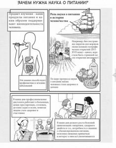 фото страниц Занимательная наука о питании. Манга #4
