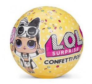 Игровой набор с куклой L.O.L. S3 'Конфетти' 65 видов (551515)