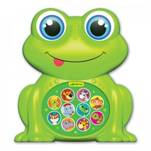 Музыкальная игрушка Азбукварик 'Лягушонок'