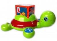 Музыкальная игрушка Азбукварик 'Черепашка Умняшка с кубиками'