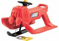 Зимние санки Prosperplast Jeep control красные (5905197095929)
