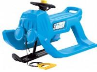 Зимние санки Prosperplast Jeep control синие (5905197190907)