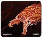Игровая поверхность SteelSeries QcK + CS:GO Howl Edition (63403)