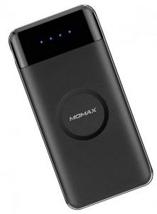 Портативное зарядное устройство Momax iPower Air Wireless External Battery 10000mAh Black (IP80D)