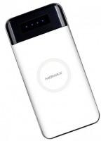 Портативное зарядное устройство Momax iPower Air Wireless External Battery 10000mAh White (IP80W)