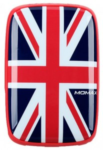 Портативное зарядное устройство Momax iPower Art External Battery 9000mAh British Flag (IP61R)