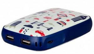 фото Портативное зарядное устройство Momax iPower Art External Battery 9000mAh England Tour (IP61P) #3