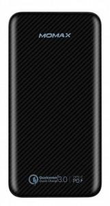 фото Портативное зарядное устройство Momax iPower Minimal PD 10000mAh Black (IP65D) #3