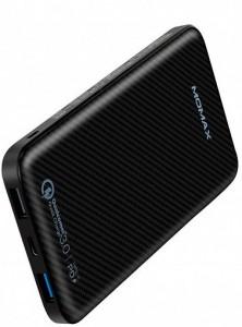 фото Портативное зарядное устройство Momax iPower Minimal PD 10000mAh Black (IP65D) #2